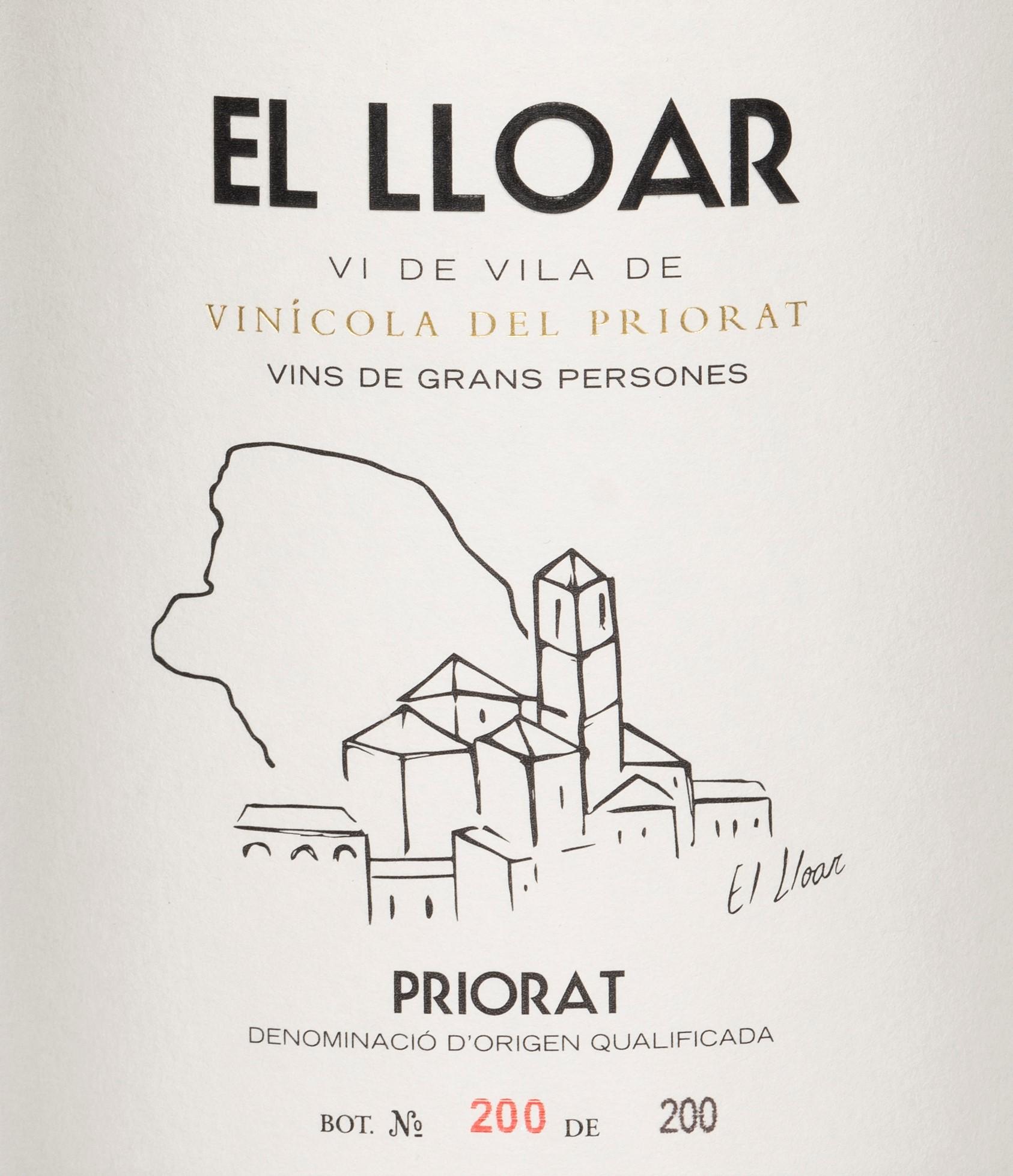 Vinícola del Priorat - El Lloar - Vi de Vila