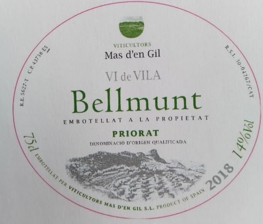 Bellmunt Vi de Vila (blanc)