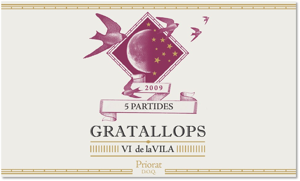 5 Partides - Gratallops - Vi de Vila