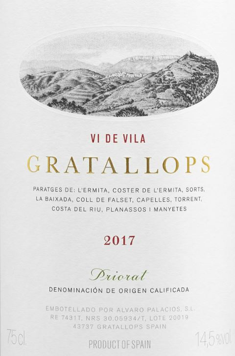Alvaro Palacios - Gratallops - Vi de Vila