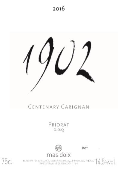 1902 Centenary Carignan