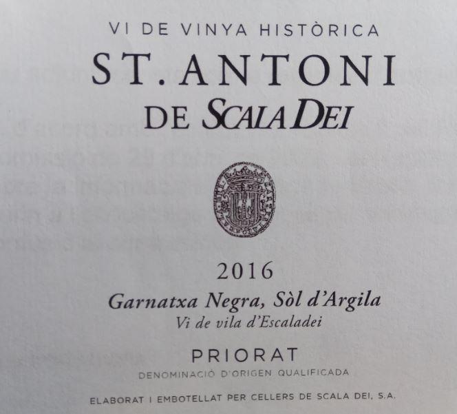 Sant Antoni - Escaladei - Vi de Vila