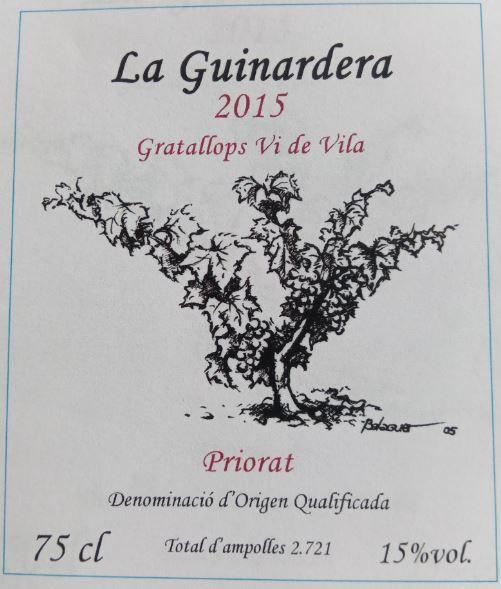 La Guinardera - Gratallops - Vi de Vila