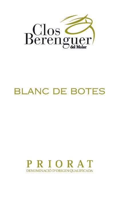Clos Berenguer - Blanc de bótes