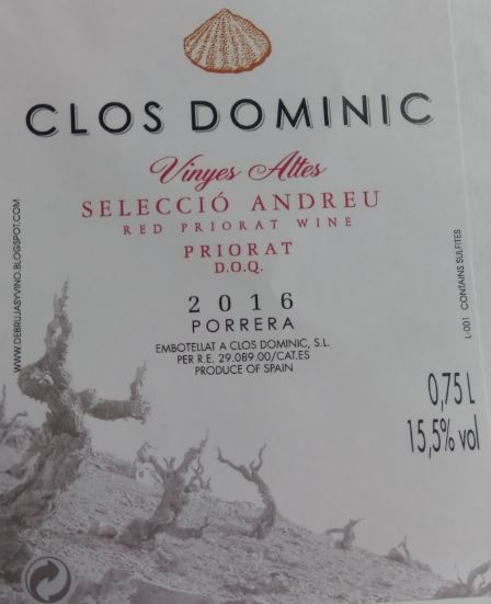 Clos Dominic Vinyes Altes Selecció Andreu
