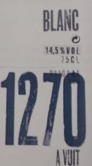 1270 a Vuit Blanc