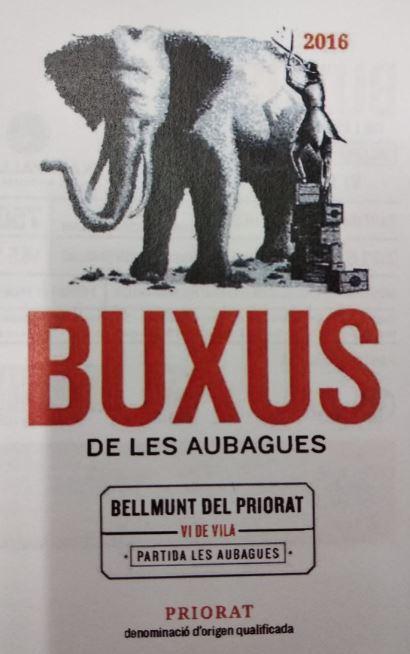Buxus de Les Aubagues - Bellmunt del Priorat - Vi de Vila
